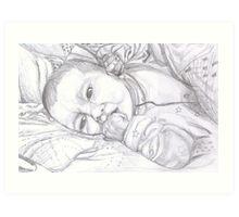 Baby Holly Art Print