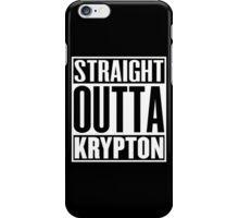 Straight Outta Krypton iPhone Case/Skin