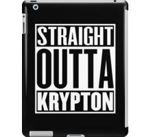 Straight Outta Krypton iPad Case/Skin