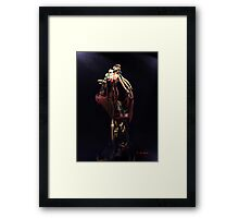 BALLERINA ON STAGE, by E. Giupponi Framed Print
