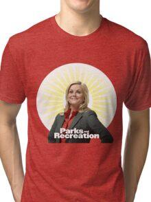 Parks and Recreation- Leslie Knope Tri-blend T-Shirt