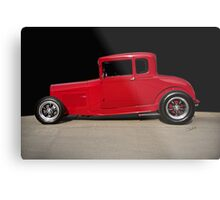 1928 Ford 'Little Red' Coupe IIA Metal Print