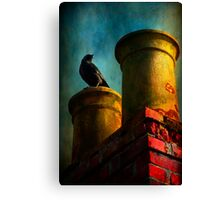 Red Chimney Canvas Print