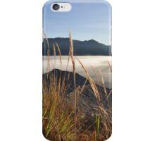 Foggy Gunung Bromo valley iPhone Case/Skin