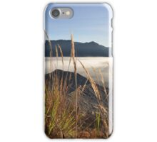 Foggy Gunung Bromo valley iPhone Case/Skin