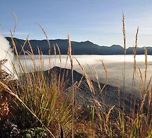 Foggy Gunung Bromo valley by Milonk