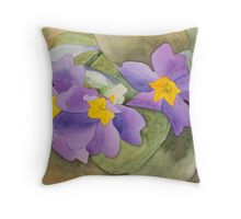 Forsyth Flowers Throw Pillow