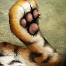 TigerPaw by murals2go