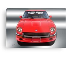 1971 Datsun 240Z VS2 Metal Print