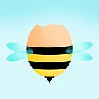 Egg Bee by Gavin Dobson