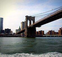 Brooklyn Bridge by Alexis  Reber