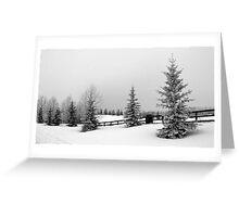 Alberta Countryside Greeting Card