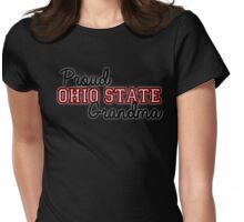 Proud Ohio State Grandma for Darker Backgrounds Womens Fitted T-Shirt