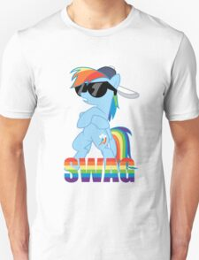 Rainbow Dash has ALL the SWAG T-Shirt