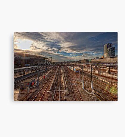 Southern Cross Station • Melbourne • Australia  Canvas Print