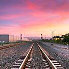 A Walk On The Tracks by Eddie Yerkish