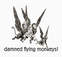 Wizard of Oz damned flying monkeys! by Zehda