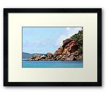 Pentecost Island Framed Print
