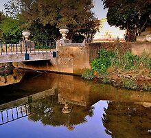 A bridge reflection I by Maria Oliveira