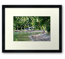 The view from our Bungalow Framed Print