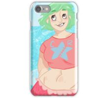 my mermaid wife iPhone Case/Skin