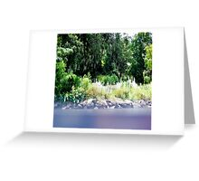 Above Ground Cemetery Greeting Card