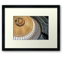 Rotunda of the United States Capitol Framed Print