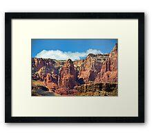 Arizona in the spring Framed Print
