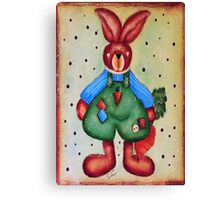 B is 4Bunny Canvas Print