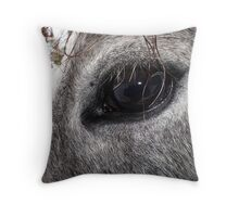 Warlock's Shimmering Steel IIII Throw Pillow