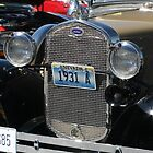 1931 Model A Ford Headlights and Grill by RichardKlos
