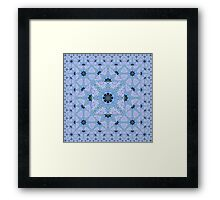The Crossing - Escheristic Tessellations Framed Print