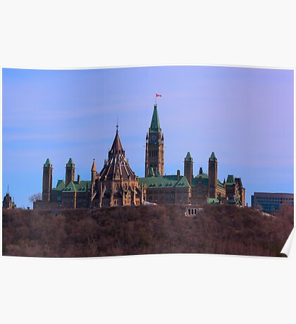 Parliament Hill - Ottawa, Ontario Poster