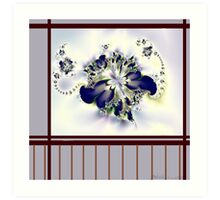 """""""Flower in the Window"""" Art Print"""