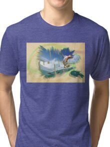 Surfin' Surfy Tri-blend T-Shirt