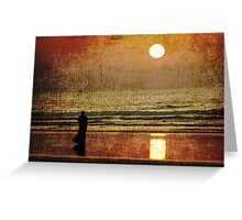 We'll always have sunsets Greeting Card