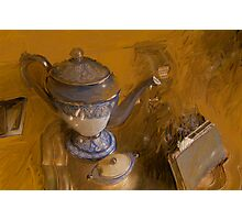 Coffee Pot Photographic Print