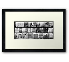 where I turned twenty-four Framed Print