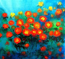 Marigolds by BenPotter
