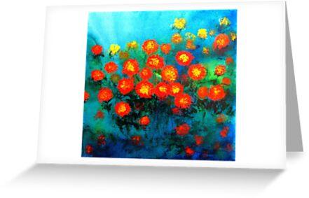 Marigolds by BenPotter
