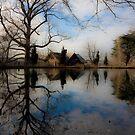 House on the Water by Marzena Grabczynska Lorenc