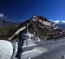 Potala Palace - Lhasa, Tibet by Mark Bolton