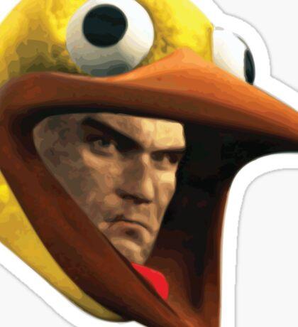 Hitman Chicken suit disguise Sticker
