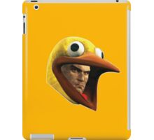 Hitman Chicken suit disguise iPad Case/Skin