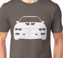 Third Gen Chevy Camaro - WHITE Unisex T-Shirt
