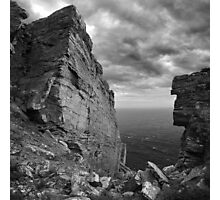 Fractured rocks at the The Chasms - photography Photographic Print