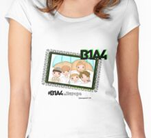 B1A4 ~ What's happening for B1A4 in Europe Women's Fitted Scoop T-Shirt