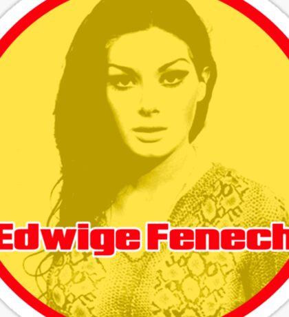 Edwige Fenech - Queen of the Giallo Sticker