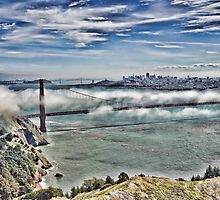 San Francisco View, San Francisco, CA by vincefoto