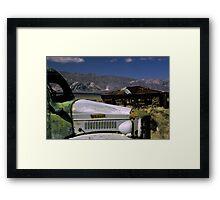 Charlie's Truck Framed Print